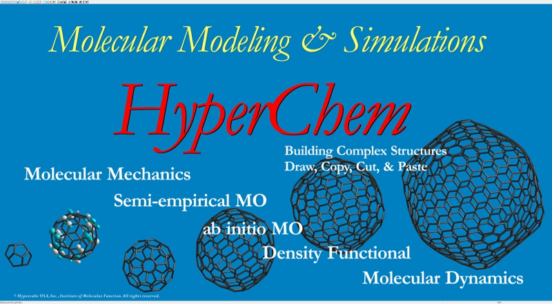 HyperChem Release 8 for Windows